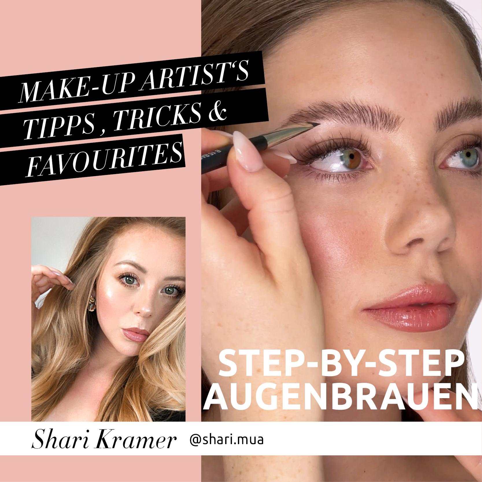 Shari.mua's perfekte Augenbrauen - Tutorial