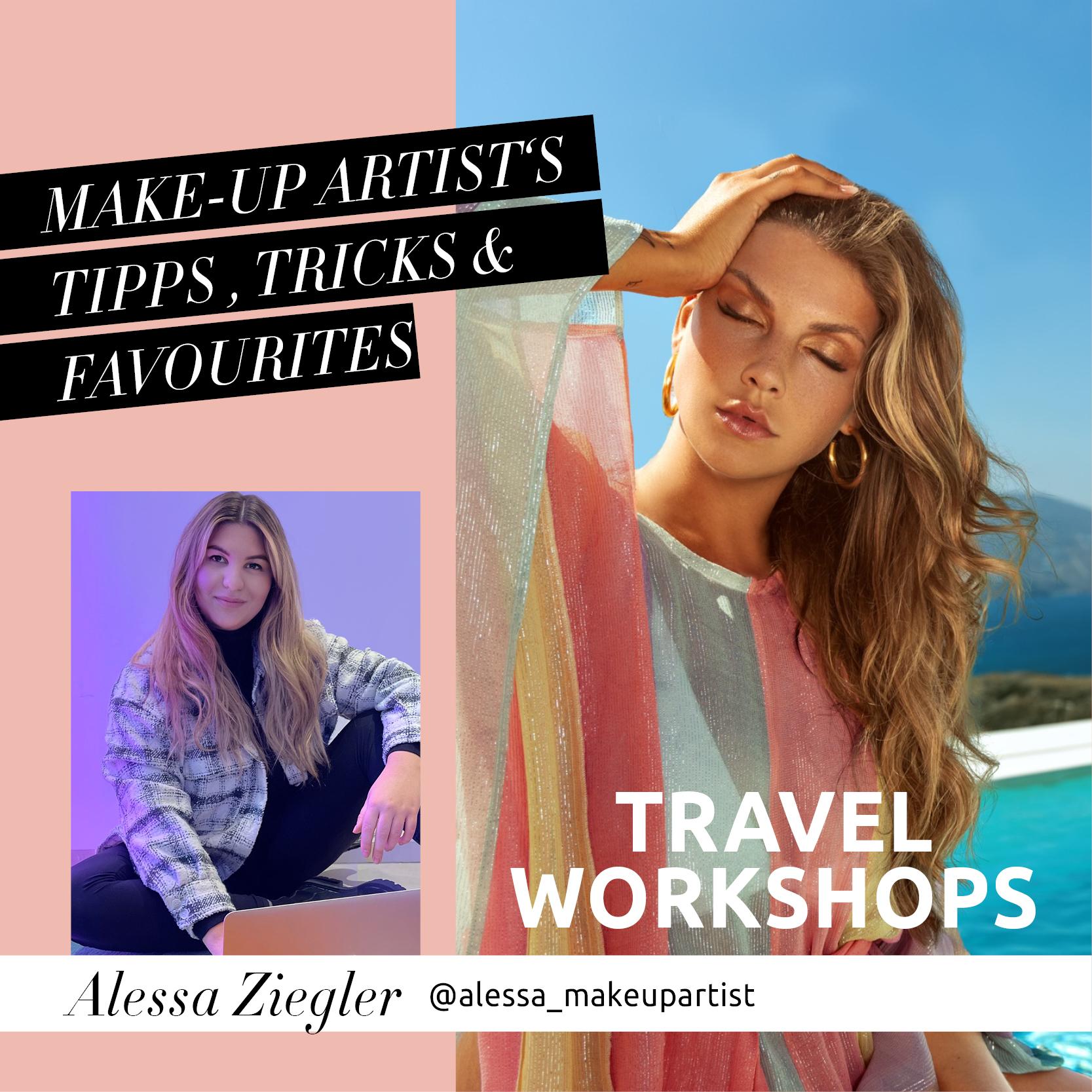 Alessa's Portfolio-Workshops um die ganze Welt