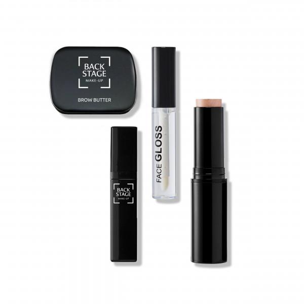 Set Simply Magic: Brow Butter, Face Gloss, Luminöser Stick, Lip Toxyl